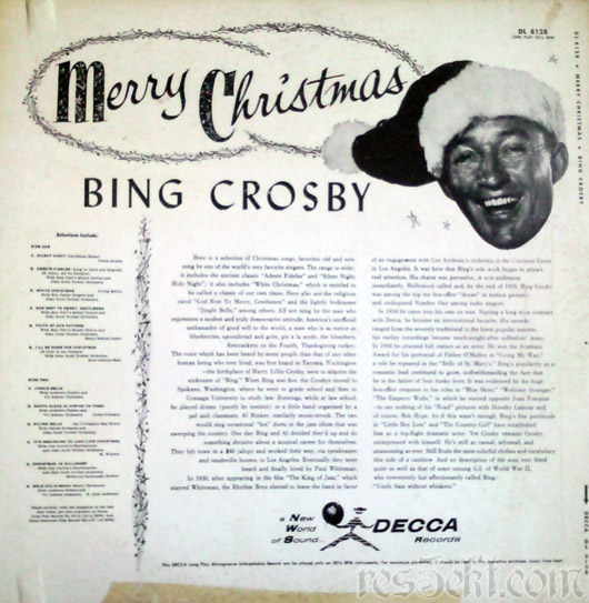 perry como sings merry christmas