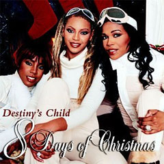destiny s child 8 days of christmas cd cover obal vianočné piesne