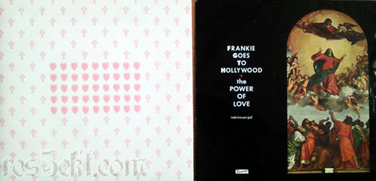 Frankie Goes To Hollywood - The Power Of Love (make love your goal) 1984 vinyl lp platna vianoce christmas