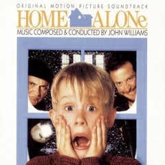 cd cover small image obal maly obrázok john williams home alone soundtrack I 1