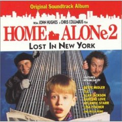 cd cover small image obal maly obrázok john williams home alone soundtrack II 2