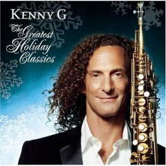 cd cover small image obal maly obrazok kenny g the greatest holiday classics