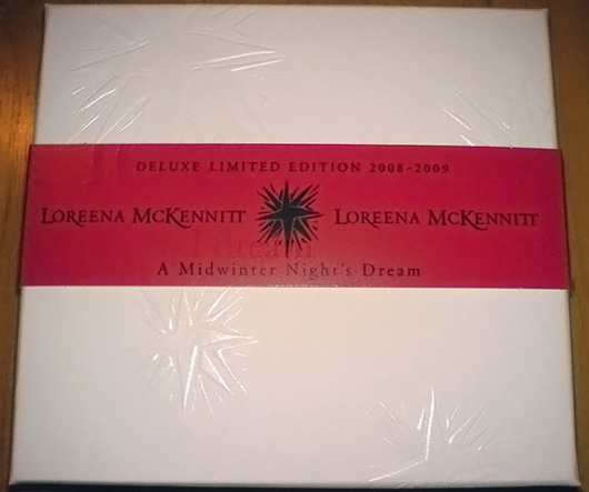 loreena mckennitt a midwinter nights dream dvd case deluxe limited edition