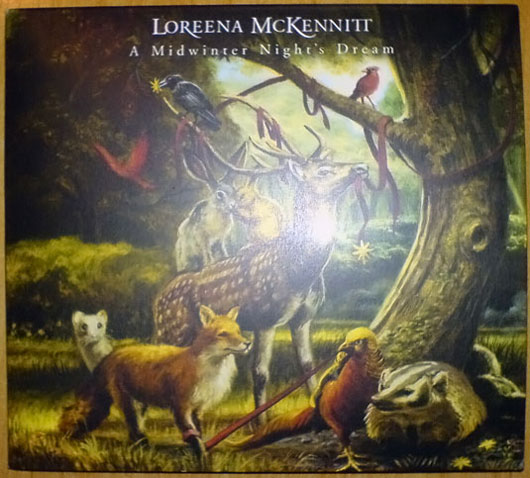 loreena mckennitt a midwinter nights dream dvd obal deluxe limited edition