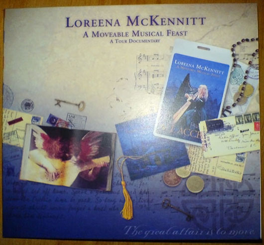 loreena mckennitt a moveable musical feast dvd cover obal