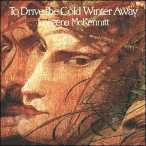 loreena mckennitt to drive the cold winter away cd cover obal vianočné piesne