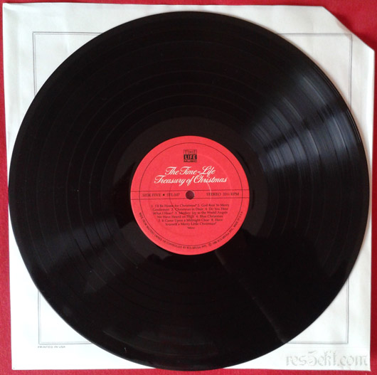 The Time-Life - Treasury Of Christmas vinyl