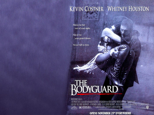 Osobný Strážca The Bodyguard 1992 Whitney Houston Kevin Costner widescreen wallpaper download na stiahnutie
